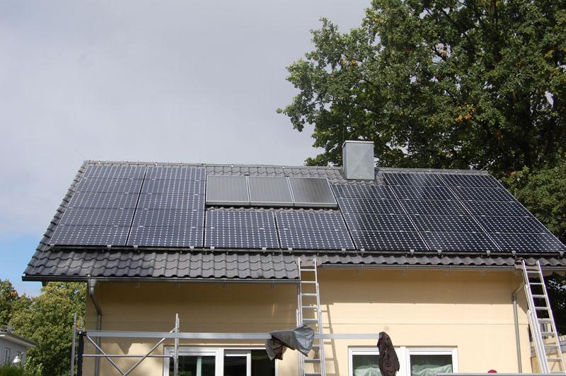 Wedler Photovoltaik Berlin Biesdorf Sunpower 300 WHT-D