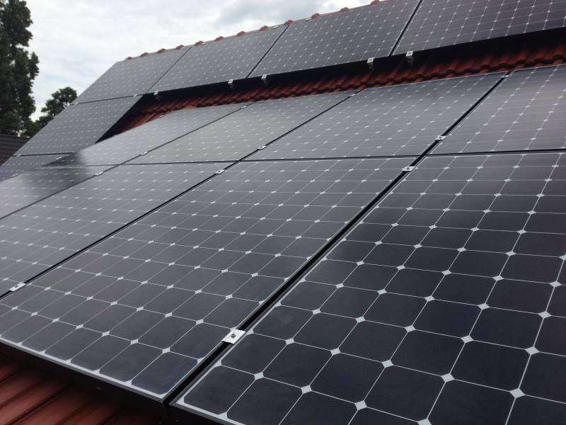 Wedler Photovoltaik Berlin Sunpower 2013