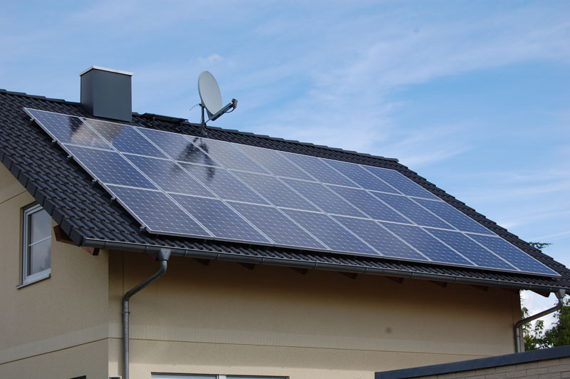 Wedler Photovoltaik Berlin Rudow Solon SMA 2010