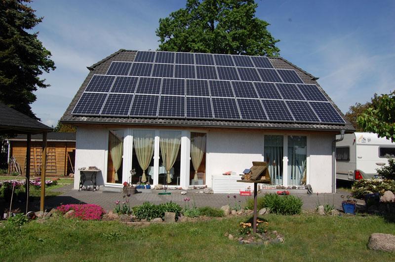 Wedler Photovoltaik Berlin Aleo in Schönefeld 2012