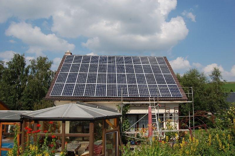 Wedler Photovoltaik Berlin Anlage mit Suntech Power Erzgebirge 2009