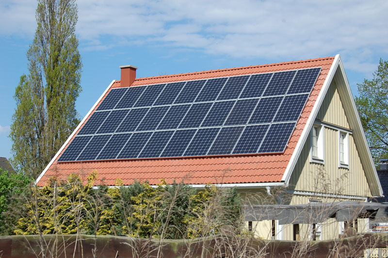 Wedler Photovoltaik Berlin Anlage mit Aleo Grossziethen 2012