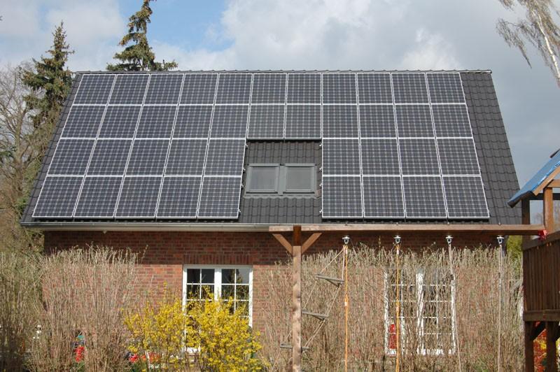 Wedler Photovoltaik Berlin mit Solarwatt in Rangsdorf 9,2 kWp