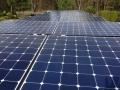 Wedler Photovoltaik Berlin Sunpower in Brandenburg auf einem Carport