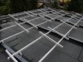 Wedler Photovoltaik Berlin Unterkonstruktion auf Kertobohlen für Sunpower in Berlin