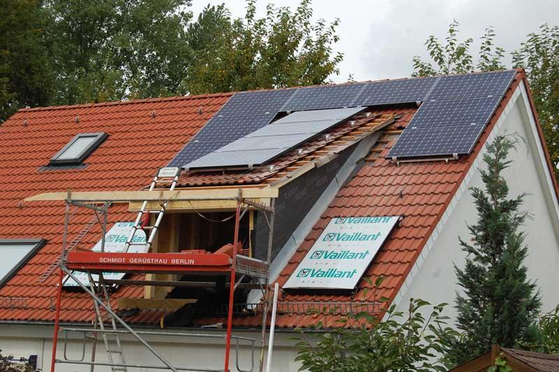 Wedler Berlin Photovoltaik Sunpower 2012