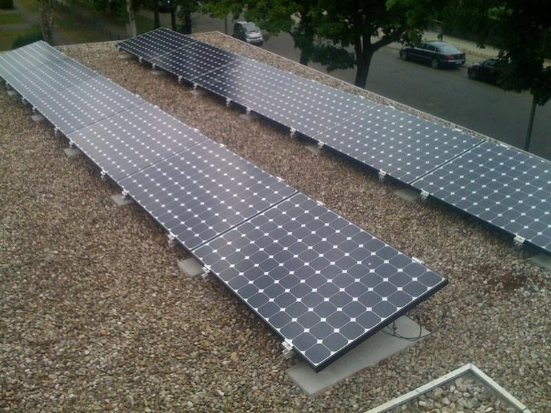 Wedler Berlin Photovoltaik Sunpower 2010