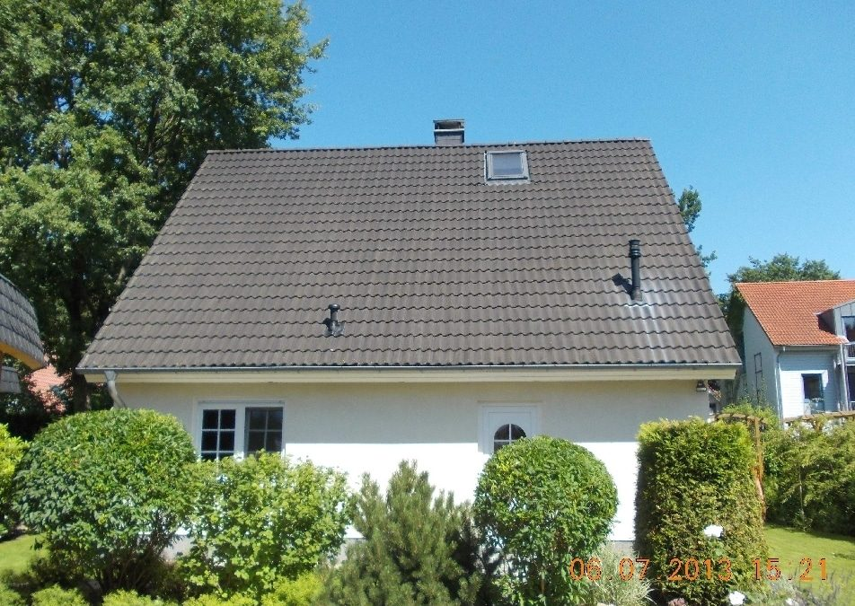 Anlage in Falkensee, Westdach, 8,18 kWp, mit SMA STP 7000 TL-20, in KW41