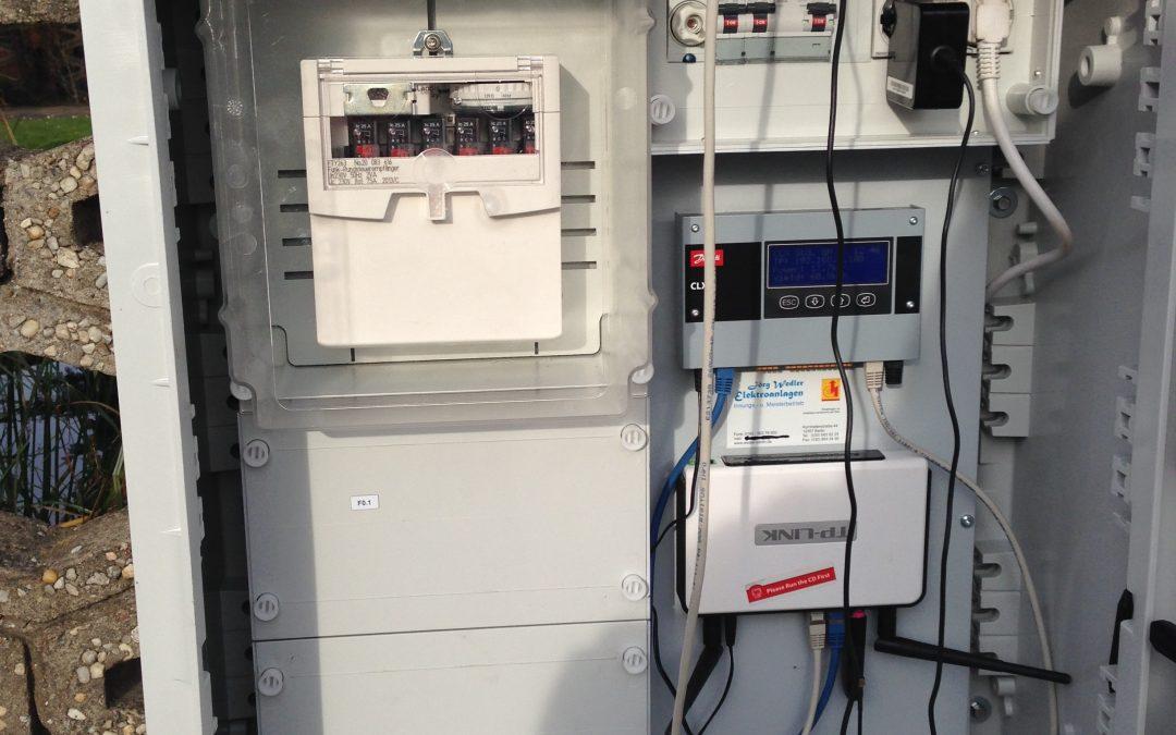 Nachrüstung einer Regelungsmöglichkeit und Visualisierungskomponenten, 99,8 kWp