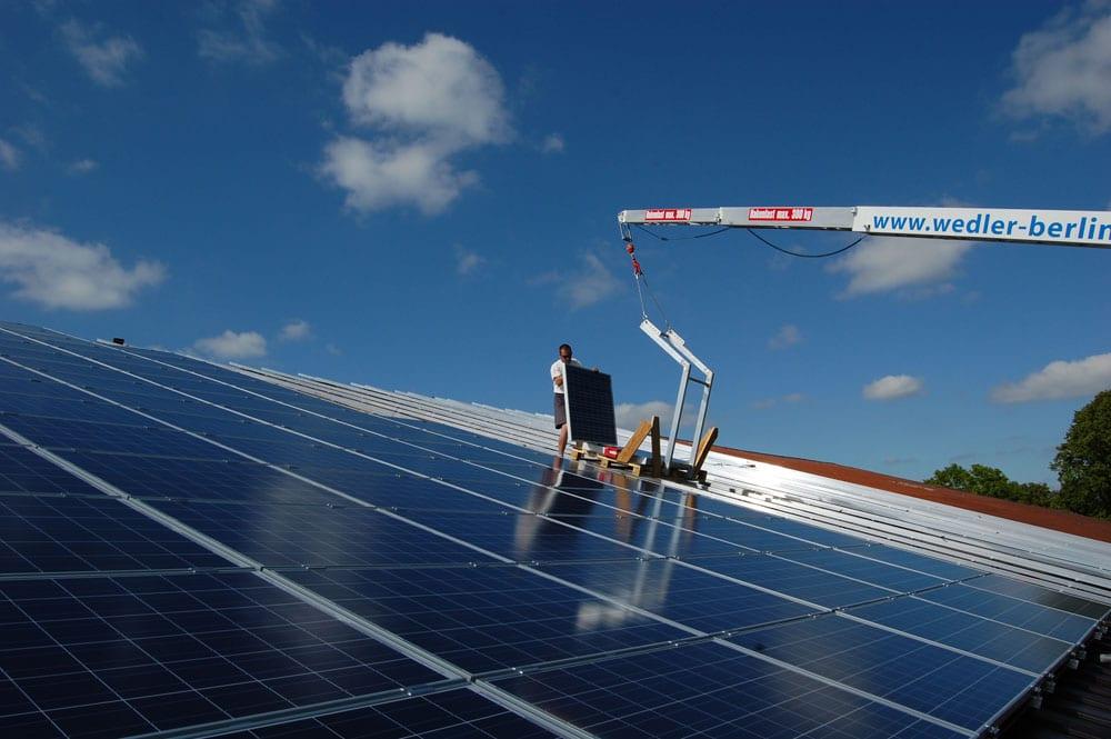 Unsere Anlage 51,84 kWp aus dem Jahr 2010