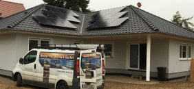 Wedler Berlin Photovoltaik auf markon haus