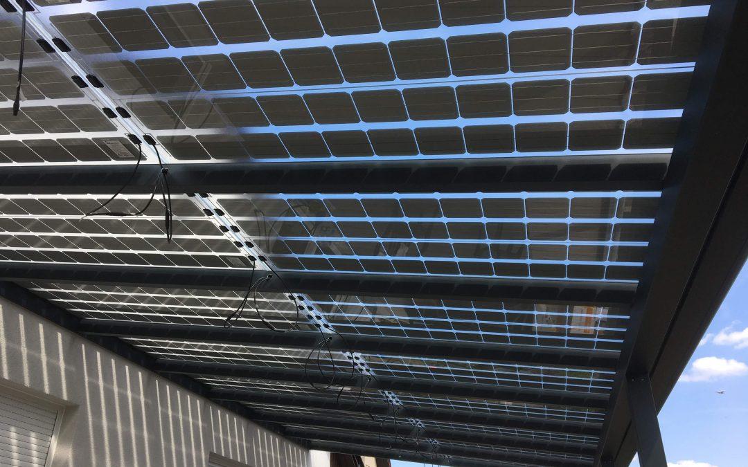 Wedler mit semitransparentem Terrassendach Mai 2017