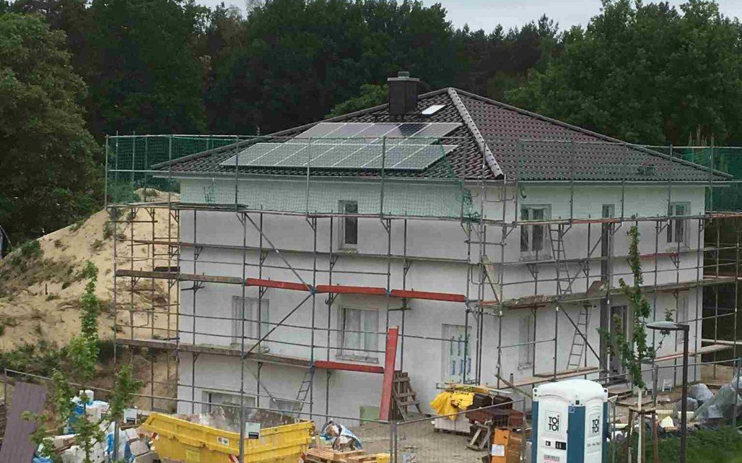 Heckert, Solaredge und Speicher in Michendorf