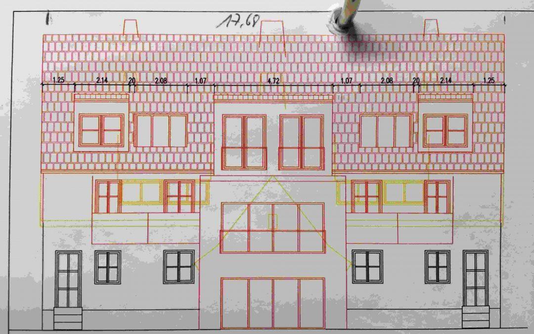 Mehrfamilienhaus mit Mieterstrommodell in Freiburg (Breisgau) Okt. 2018