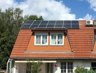 Wedler Photovoltaik Berlin, Anlage im Juli